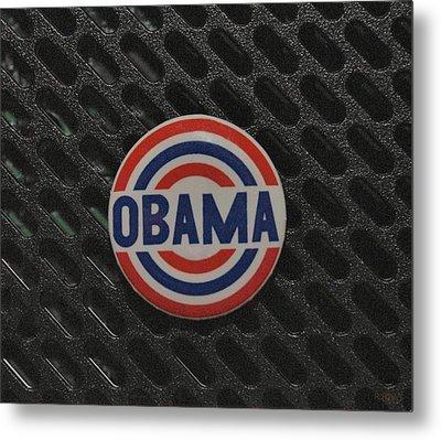 Obama Metal Print by Rob Hans