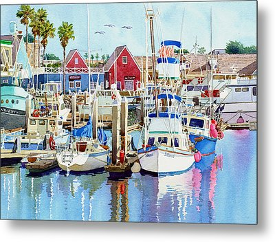 Oceanside California Metal Print by Mary Helmreich