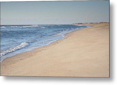 Ocracoke Beach Metal Print by Steven Ainsworth