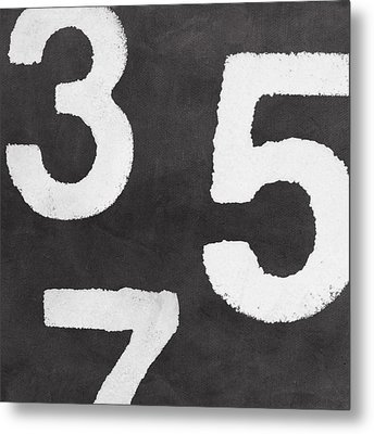 Odd Numbers Metal Print by Linda Woods