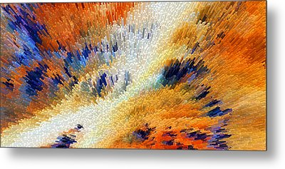 Odyssey - Abstract Art By Sharon Cummings Metal Print by Sharon Cummings