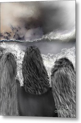 Of The Sea Metal Print by Ruth Clotworthy