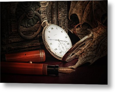 Of Times Gone By Metal Print by Tom Mc Nemar