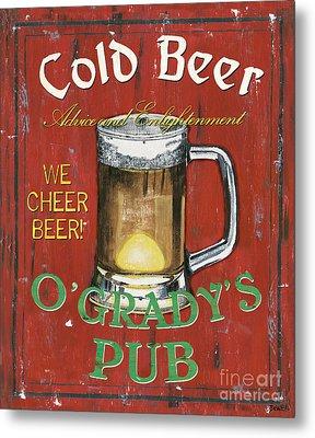 O'grady's Pub Metal Print by Debbie DeWitt