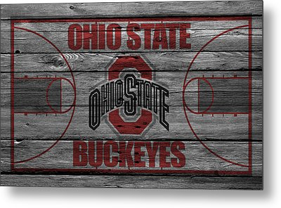 Ohio State Buckeyes Metal Print by Joe Hamilton