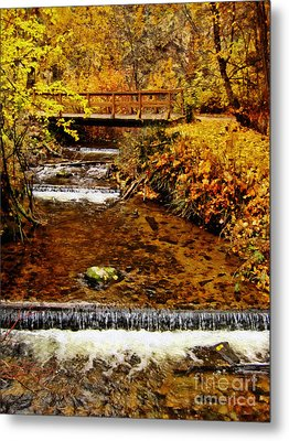Okanagan Autumn Metal Print by Kathy Bassett