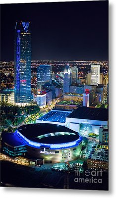 Okc0054 Metal Print by Cooper Ross