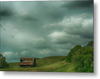 Old And Lonely Metal Print by Laurie Search