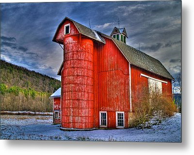Old And Rugged Metal Print by David Simons