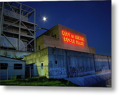Old Austin Power Plant Metal Print by Mark Weaver