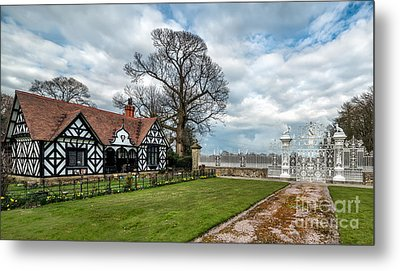 Old English Lodge Metal Print by Adrian Evans