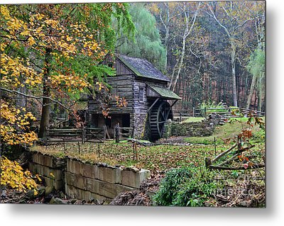 Old Fashion Mill Metal Print by Paul Ward