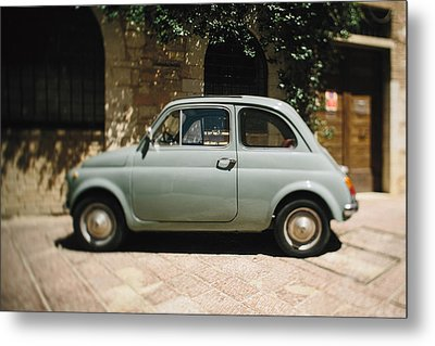 Old Fiat Metal Print by Clint Brewer