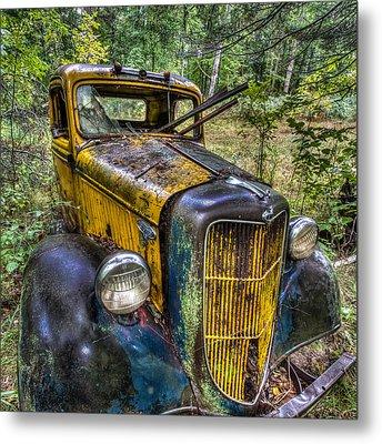 Old Ford Metal Print by Paul Freidlund