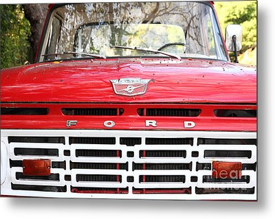 Old Ford Truck 5d22422 Metal Print by Wingsdomain Art and Photography