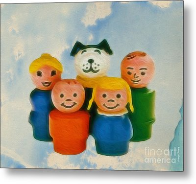 Old Friends  Metal Print by Cheryl Young