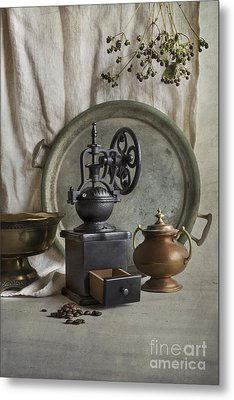 Old Grinder Metal Print by Elena Nosyreva