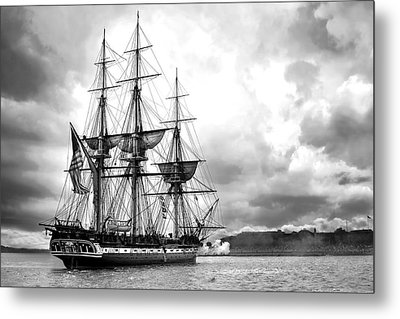 Old Ironsides Metal Print by Peter Chilelli