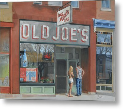 Old Joe's Metal Print by Todd Baxter