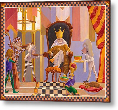 Old King Cole Metal Print by Leonard Filgate