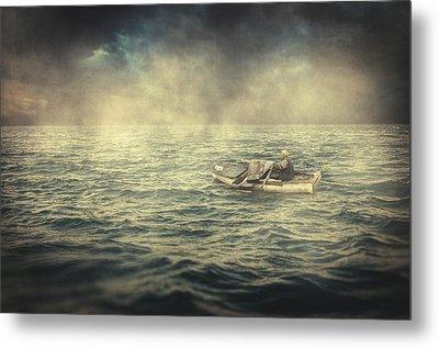 Old Man And The Sea Metal Print by Taylan Soyturk
