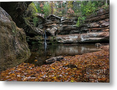 Old Mans Cave Metal Print by James Dean
