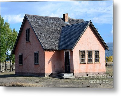 Old Mormon Home Metal Print by Kathleen Struckle