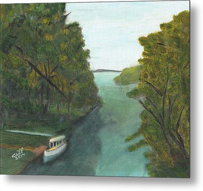 Old River Metal Print by Cliff Wilson
