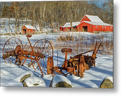 Old School Metal Print by Bill Wakeley