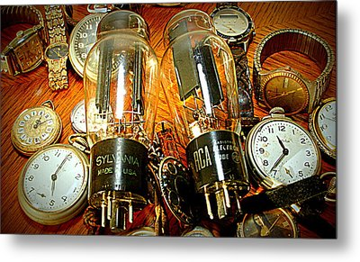 Old School Tube And Time Metal Print by Danny Jones