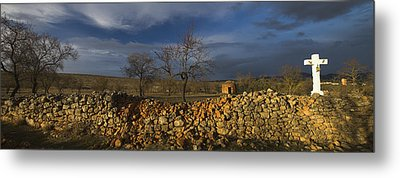 Old Shepherd's Hut Metal Print by Guido Montanes Castillo