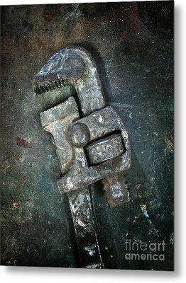 Old Spanner Metal Print by Carlos Caetano