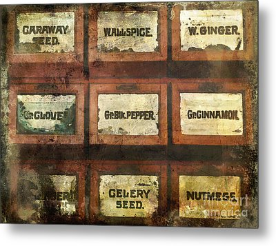 Old Spice Metal Print by Colleen Kammerer