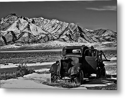 Old Truck Metal Print by Robert Bales