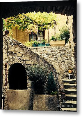 Old Village House Metal Print by France  Art