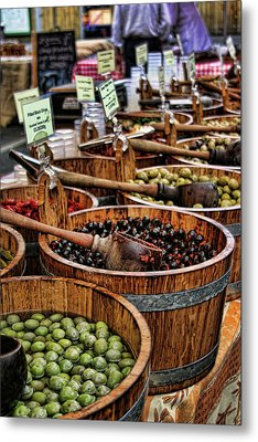 Olives Metal Print by Heather Applegate