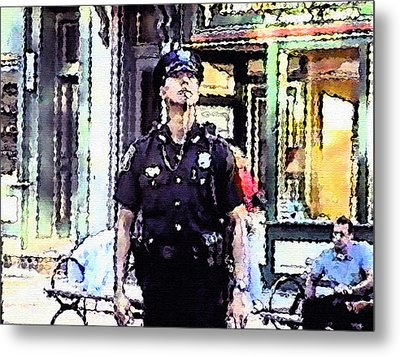 On 9/11 -  Moment Of Pause Metal Print by Kosior