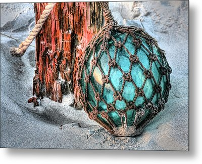 On The Beach Metal Print by JC Findley