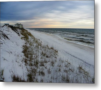 On The Edge Of The World Metal Print by Judy Wanamaker