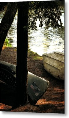 On The Island Metal Print by Michelle Calkins