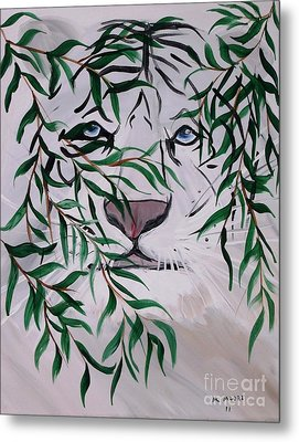 On The Prowl Metal Print by Mark Moore
