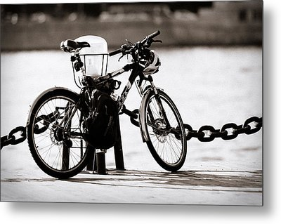 On The Quay - Featured 3 Metal Print by Alexander Senin