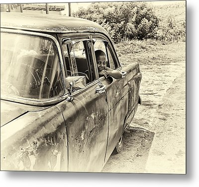 On The Road Metal Print by Phil Callan Photography