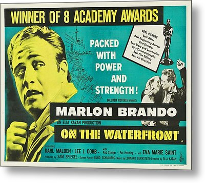 On The Waterfront - 1954 Metal Print by Georgia Fowler