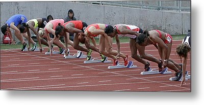 On Your Marks Metal Print by Shoal Hollingsworth