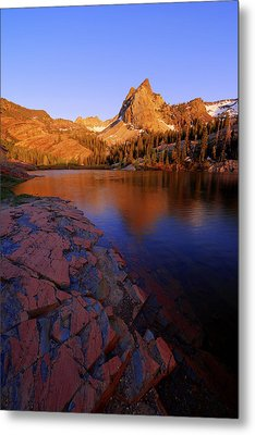 Once Upon A Rock Metal Print by Chad Dutson