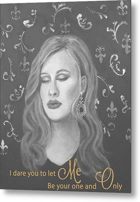 One And Only Metal Print by The Art With A Heart By Charlotte Phillips