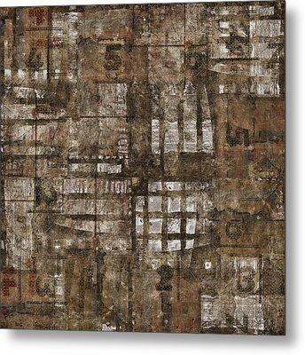 One Through Six Metal Print by Carol Leigh