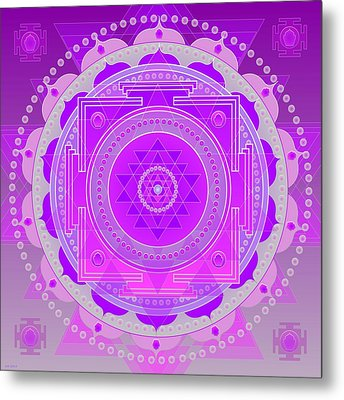 Oneness And Unity Metal Print by Sarah  Niebank
