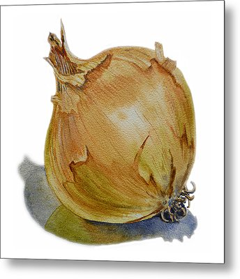 Onion Metal Print by Irina Sztukowski